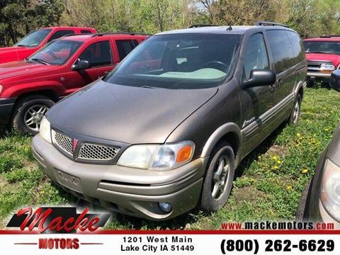 2004 Pontiac Montana for sale in Lake City, IA
