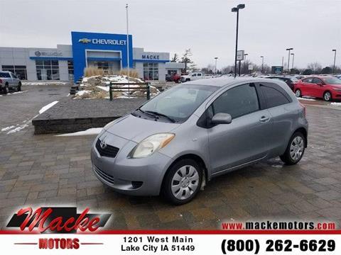 Toyota yaris for sale in iowa for Macke motors lake city iowa