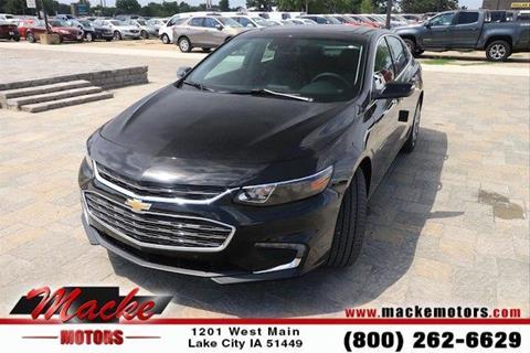 2018 Chevrolet Malibu for sale in Lake City, IA