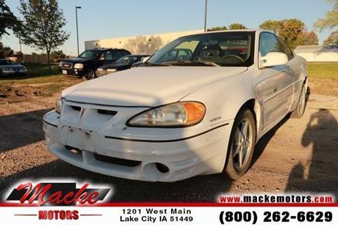 1999 Pontiac Grand Am for sale in Lake City, IA