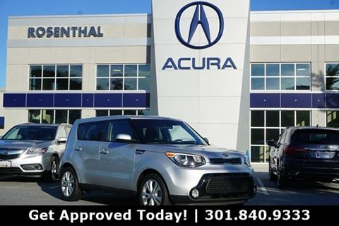 2016 Kia Soul for sale in Gaithersburg, MD