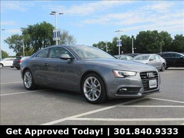 2014 Audi A5 for sale in Gaithersburg, MD