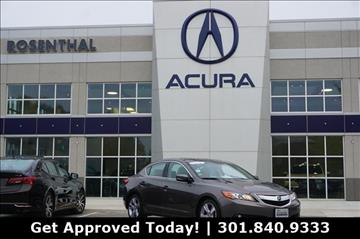 2013 Acura ILX for sale in Gaithersburg, MD