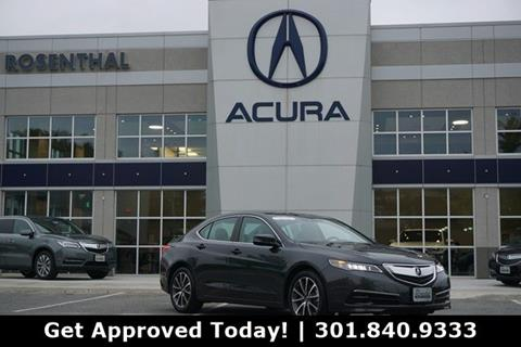 2015 Acura TLX for sale in Gaithersburg, MD