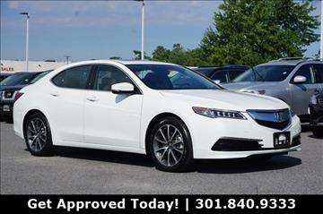2015 Acura TLX for sale in Gaithersburg MD