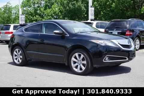 Acura Zdx For Sale >> 2012 Acura Zdx For Sale In Gaithersburg Md
