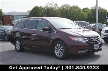 2014 Honda Odyssey for sale in Gaithersburg, MD