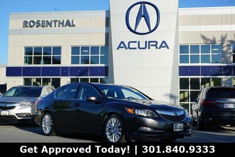 2015 Acura RLX for sale in Gaithersburg, MD