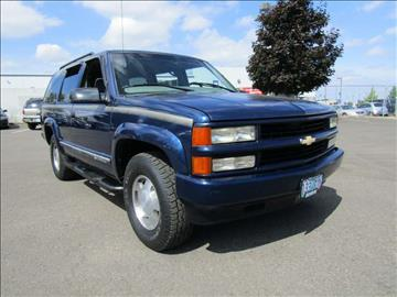 2000 Chevrolet Tahoe Limited/Z71 for sale in Gresham, OR