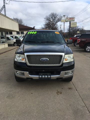 2004 Ford F-150 Lariat 4dr SuperCrew 4WD Styleside 5.5 ft. SB - Des Moines IA