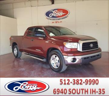 2008 Toyota Tundra for sale in Austin, TX