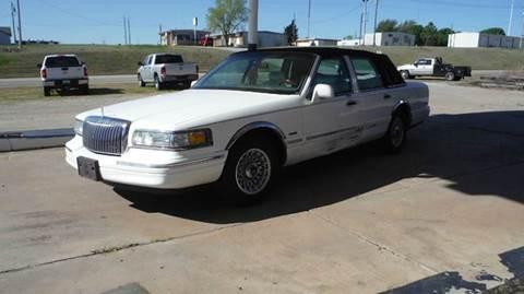 1997 Lincoln Town Car for sale in Mannford, OK
