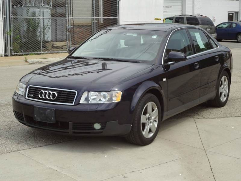 2002 audi a4 3 0 quattro awd 4dr sedan in bedford park il masters auto sales. Black Bedroom Furniture Sets. Home Design Ideas