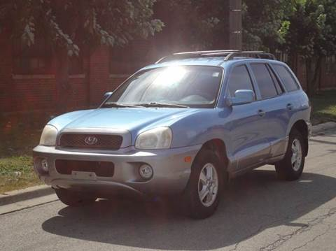 2003 Hyundai Santa Fe for sale in Bedford Park, IL