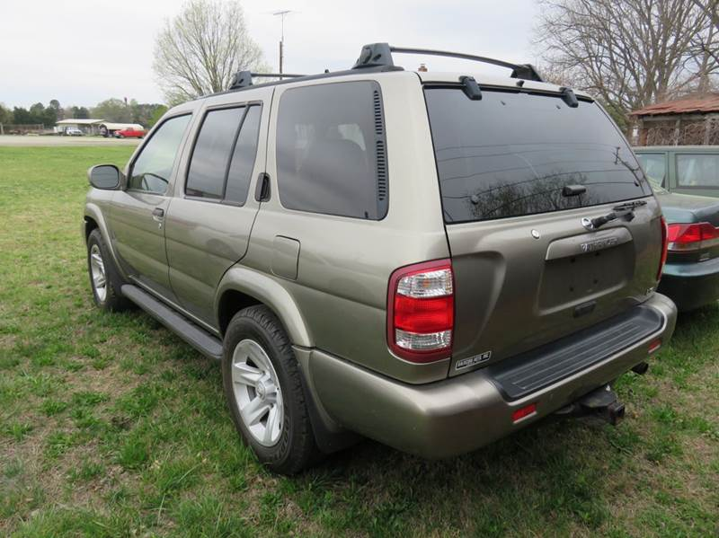 2003 Nissan Pathfinder LE 4WD 4dr SUV - Mocksville NC