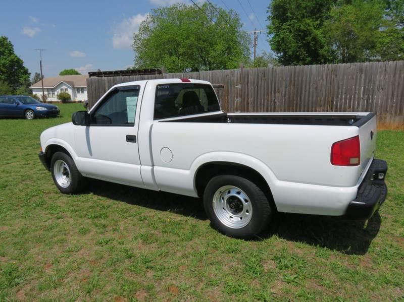 2003 Chevrolet S-10 2dr Standard Cab Rwd SB - Mocksville NC