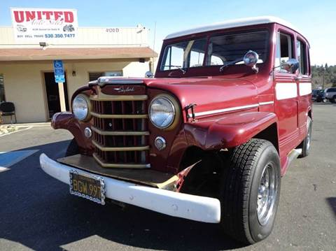 1953 Jeep Willys for sale in Shingle Springs, CA