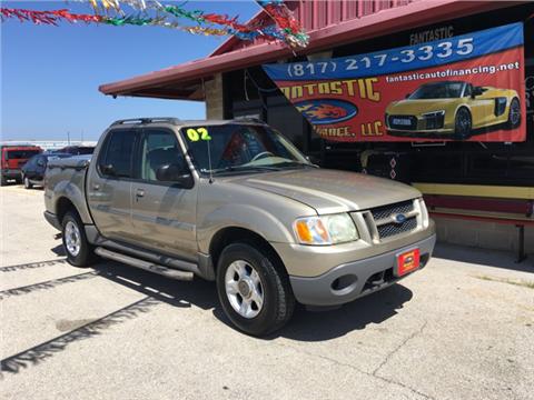 2002 Ford Explorer Sport Trac for sale in Grand Prairie, TX