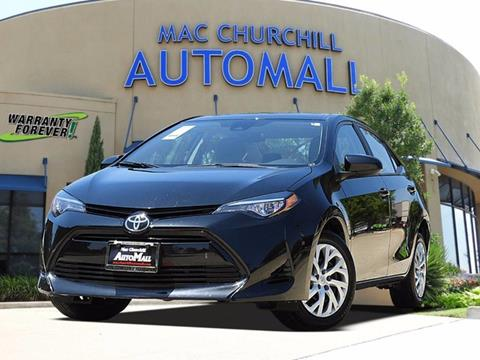 2017 Toyota Corolla for sale in Bedford TX