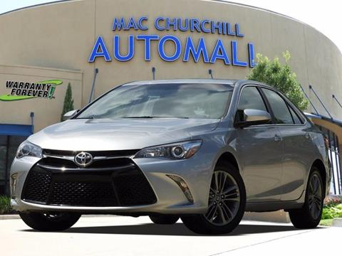 2016 Toyota Camry for sale in Bedford, TX