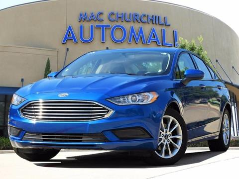 2017 Ford Fusion for sale in Bedford TX