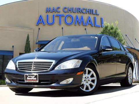 2008 Mercedes-Benz S-Class for sale in Bedford TX