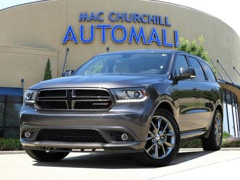 2017 Dodge Durango for sale in Bedford TX