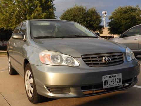 2003 Toyota Corolla for sale in Bedford, TX