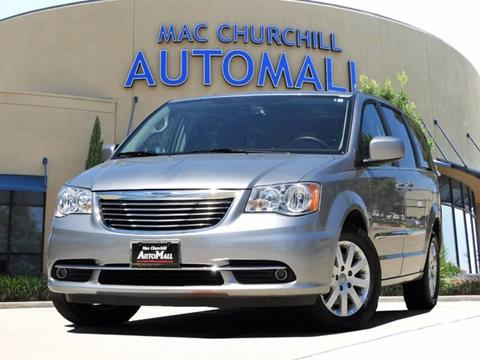 2016 Chrysler Town and Country for sale in Bedford, TX