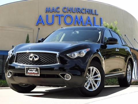 2017 Infiniti QX70 for sale in Bedford, TX