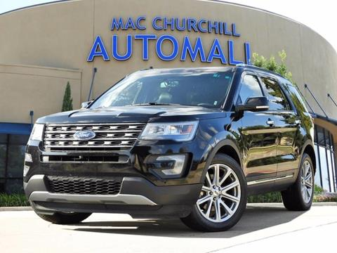 2016 Ford Explorer for sale in Bedford TX