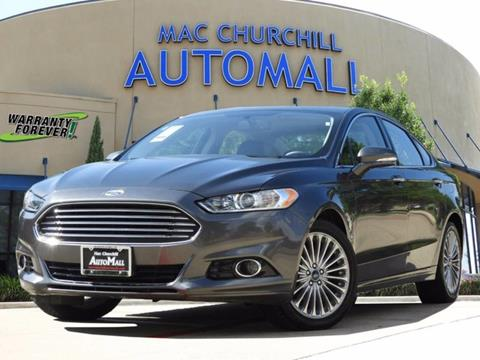 2016 Ford Fusion for sale in Bedford TX