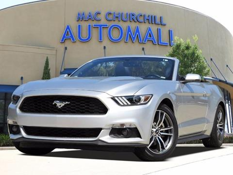2017 Ford Mustang for sale in Bedford TX