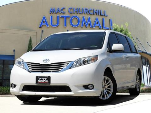 2012 Toyota Sienna for sale in Bedford TX