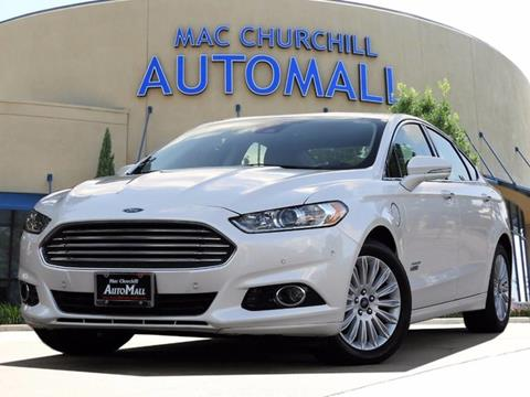 2016 Ford Fusion Energi for sale in Bedford TX