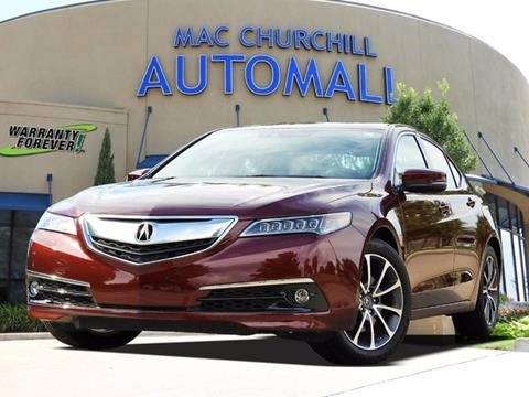 2016 Acura TLX for sale in Bedford, TX