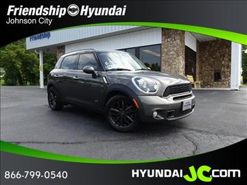 mini cooper countryman for sale tennessee. Black Bedroom Furniture Sets. Home Design Ideas