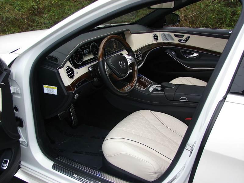 2014 Mercedes-Benz S-Class AWD S 550 4MATIC 4dr Sedan - Marietta GA