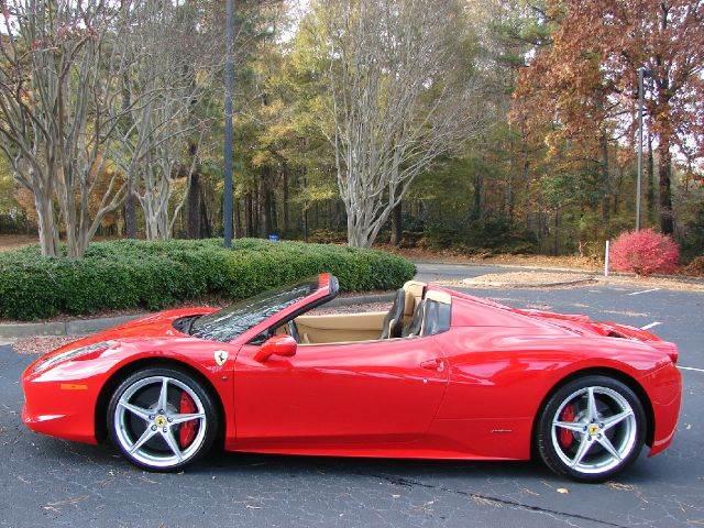 2013 Ferrari 458 Spider Convertible In Marietta Ga Oliver Sales