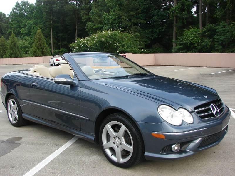 2007 Mercedes-Benz CLK CLK550 2dr Convertible - Marietta GA