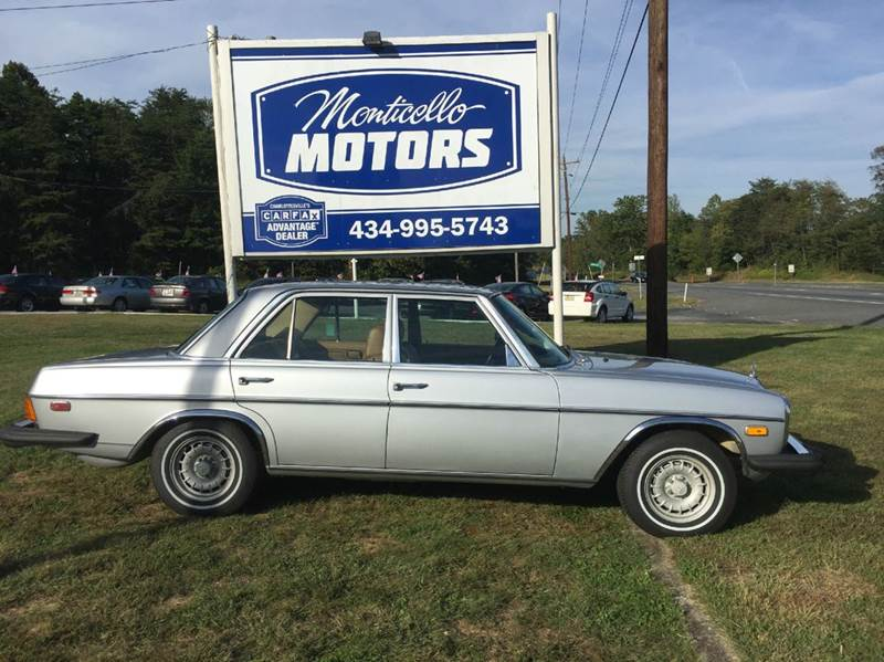 Sedan for sale in charlottesville va for Mercedes benz of charlottesville