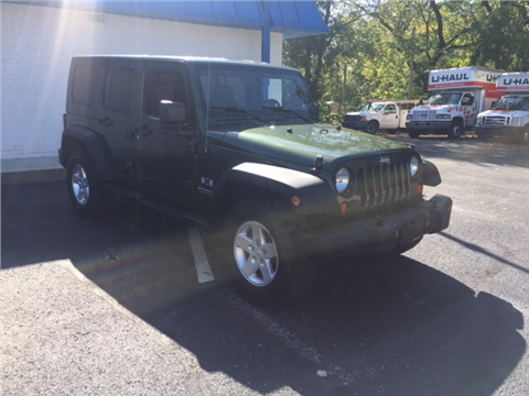 2008 Jeep Wrangler Unlimited for sale in Greenwood, IN
