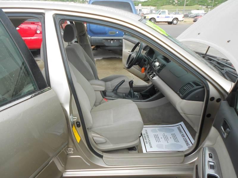 2002 Toyota Camry SE 4dr Sedan - Castle Rock CO