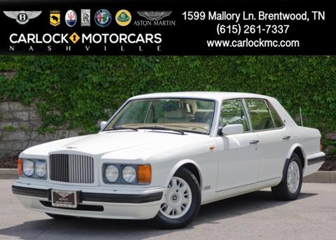 1996 Bentley Brooklands for sale in Franklin, TN