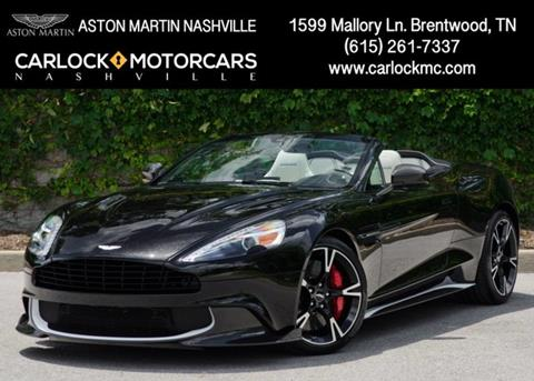 Aston Martin Vanquish S For Sale - Carsforsale.com