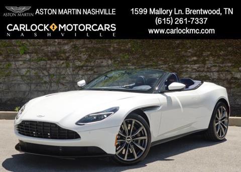 2019 Aston Martin DB11 for sale in Franklin, TN