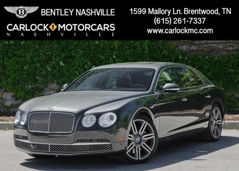 2017 Bentley Flying Spur W12 for sale in Franklin, TN