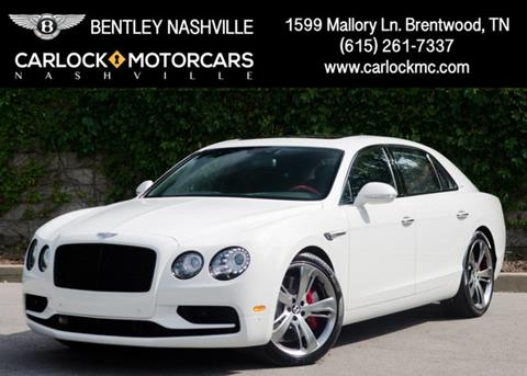 2017 Bentley Flying Spur W12 S for sale in Franklin, TN
