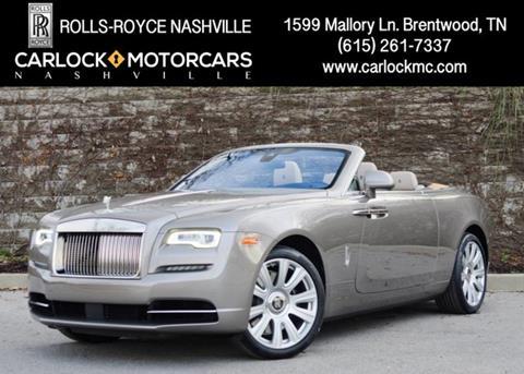 2017 Rolls-Royce Dawn for sale in Franklin, TN