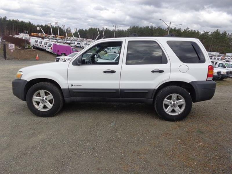 2005 Ford Escape Awd Hybrid 4dr Suv In Pittstown Ny Upstate Auto